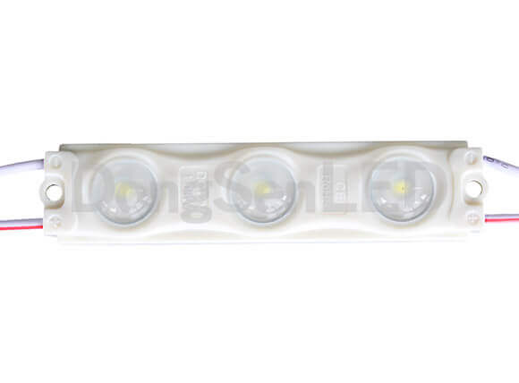 Injection LED Module With Lens - 3led 2835 inject led module with lens IP67 MS-3W28