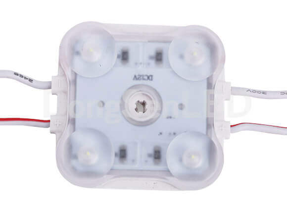 Injection LED Module With Lens - Constant current 2835 inject led module with lens 3led IP67 MHS-4W28