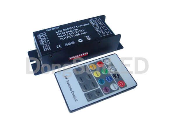 DMX 512 RGB LED Controller DS-SZ200-RFT20-DongSenLED Co ,Ltd