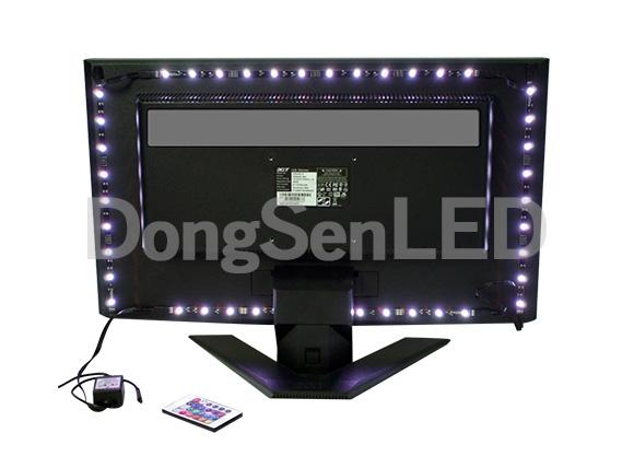 DC5V USB Power supply RGB led strips for TV background