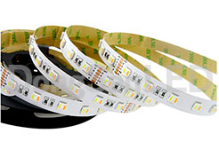CCT Adjustable Flexible Led Strip - 5 Chip in 1 5050 Flexible RGB CCT adjustable LED Strips RGB+WW+PW