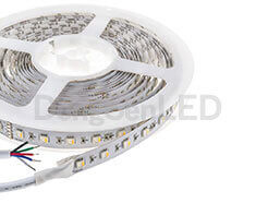 RGBW Flexible LED Strip - Integrated RGBW flexible led strip 4 chip in 1 led 19.2w/m DC24v TB12-60RGBW50