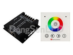 LED Controller - Wall panel touch led controller DS-SZ600-WP86-RGB