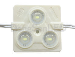 Injection LED Module With Lens - Square type High power 5630 inject led module with lens IP67 MS-3W56S